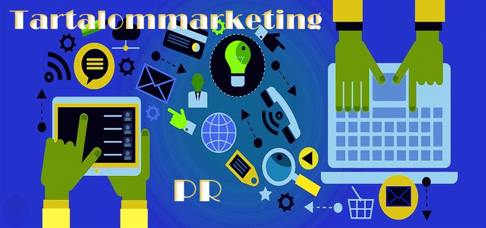 tartalom és pr marketing