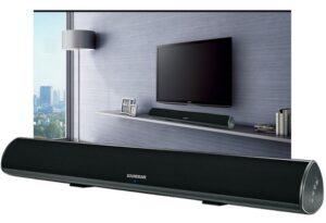 soundbar a tv-képernyő alatt