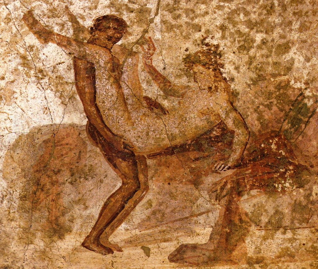 pompeii falfestmény